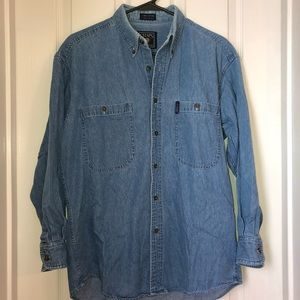 Chaps Ralph Lauren Denim Button down